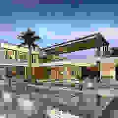 فيلا سكنية فاخرة من Karim Elhalawany Studio حداثي