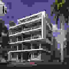غمارة سكنية من Karim Elhalawany Studio حداثي