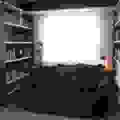 Apartamento JTA Salas multimédia modernas por Viviane Cunha Arquitectura Moderno