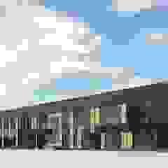 Minimalist office buildings by Дизайн-Центр Minimalist