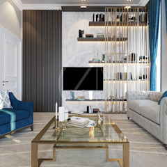 Modern Luxury House Interior Design Modern living room by Comelite Architecture, Structure and Interior Design Modern