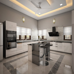 Best Interior designs in Kerala—Monnaie Architects & Interiors Modern dining room by Monnaie Interiors Pvt Ltd Modern
