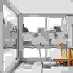 Contemporary Extension Wiejski ogród zimowy od Hackett Visuals Wiejski Ceramiczny