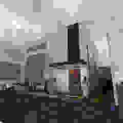 by Arquitectura Tiempo & Espacio Minimalist Stone