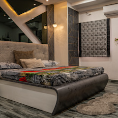 by Nabh Design & Associates Modern انجینئر لکڑی Transparent