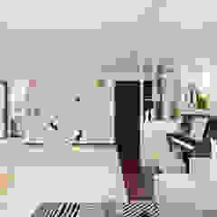 Buangkok Link Modern corridor, hallway & stairs by Swish Design Works Modern
