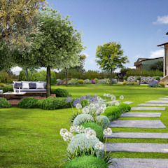 de Verde Progetto - Adriana Pedrotti Garden Designer Mediterráneo
