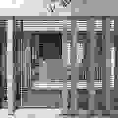 Refacción y ampliación CASA BC Pasillos, vestíbulos y escaleras minimalistas de ARBOL Arquitectos Minimalista