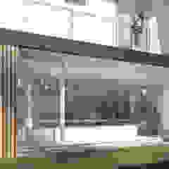 Casa CM Piscinas minimalistas por studio vtx Minimalista