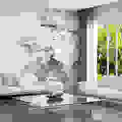 CahuacKan Living room Wood-Plastic Composite