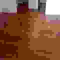 MADAN Arquitectos Floors Solid Wood Wood effect