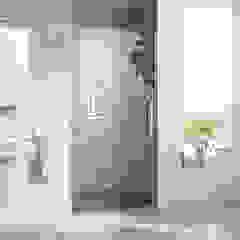Duschtür Nische - Beispiele moderne Nischentür aus Glas Moderne Badezimmer von Duschkabine-Shop.de Modern Glas