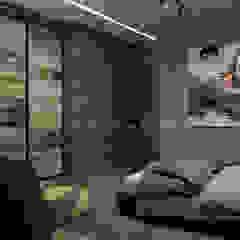by Архитектурное Бюро 'Капитель' Industrial لکڑی Wood effect