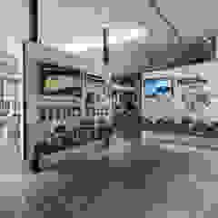 Scandinavian style media rooms by SING萬寶隆空間設計 Scandinavian