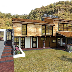 من MARQ. Arquitectos. ريفي خشب Wood effect