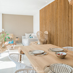 من Francisco Pomares Arquitecto / Architect بحر أبيض متوسط خشب Wood effect