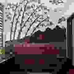 Rustic style corridor, hallway & stairs by Yuvarti Craft Rustic سرامک