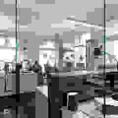MIKOŁAJSKAstudio-biuro projektowania wnętrz przy ul. Lubelskiej w Krakowie od MIKOŁAJSKAstudio Nowoczesny