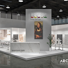 Idéobain & Bosnor Salones de eventos de estilo moderno de Bosnor, S.L. Moderno