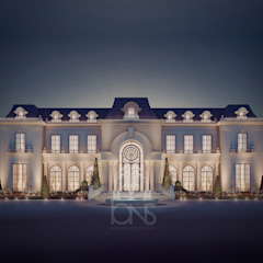 Luxurious Home Design Collection : Royal Palace in Neoclassic Architecture Style IONS DESIGN 房子 石器 White