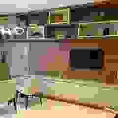 Consultório de psicologia Escritórios clássicos por Jacqueline Fumagalli Arquitetura & Design Clássico