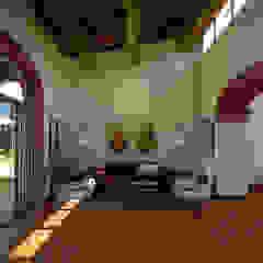 PRIVATE HOUSE SM Soggiorno rurale di DESIGN107 Rurale