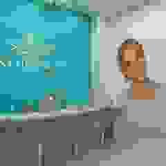 Instituto Ana Hickmann Escolas modernas por KN Arquitetura e Interiores Moderno
