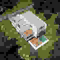 de RRA Arquitectura Minimalista Madera Acabado en madera