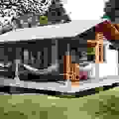 من jemaal arquitectos ريفي خشب Wood effect