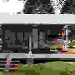 by jemaal arquitectos Rustic لکڑی Wood effect