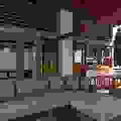 by jemaal arquitectos Rustic Solid Wood Multicolored