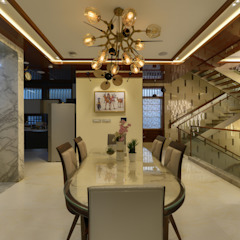 281 Residence Modern dining room by Archemist Architects Modern Marble