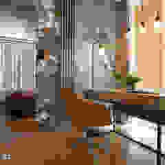MEDIOLAŃSKIE KLIMATY - zdjęcia Nowoczesne domowe biuro i gabinet od MIKOŁAJSKAstudio Nowoczesny