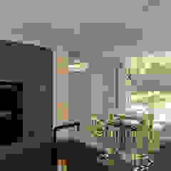 Interieurontwerp verbouwing jaren '70 woning Bilthoven van Studio Lieke Sanders Minimalistisch Hout Hout
