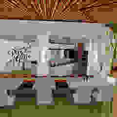 Restaurante Pico&Gallo Comedores de estilo ecléctico de MaGa Delgado Ecléctico