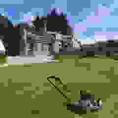 New Sunroom for Cosy Cottage Wiejski ogród zimowy od Corylus Architects Ltd. Wiejski Granit