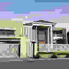Kupang Indah Residential Oleh Crea architect Minimalis Batu Bata