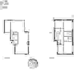 Woningontwerp vrijstaande woning Dordrecht van Trae Architect Modern Hout Hout
