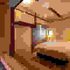 水辺の民家ホテル カモメとウミネコ モダンなホテル の 濱田修建築研究所 モダン