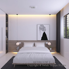 Bishan St 23 by Swish Design Works Modern Plywood