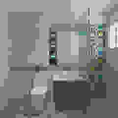 Woodlands St 81 Modern bathroom by Swish Design Works Modern
