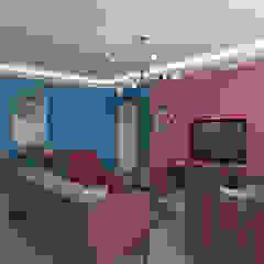 Woodlands St 81 Modern living room by Swish Design Works Modern