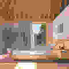 Minimalist bedroom by NOEMA studio Minimalist Wood Wood effect