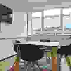 Innovation Lab - Tractebel Espaces de bureaux modernes par Charlotte Liénard - Architecte d'Intérieur Moderne