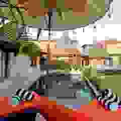 WaB - Wimba anenggata architects Bali Hotels Concrete Multicolored