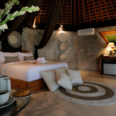de WaB - Wimba anenggata architects Bali Ecléctico Concreto