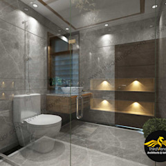 من ThirdVendor - Architects & Interiors حداثي بلاط