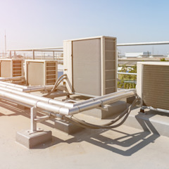 What are the Different Types of Commercial Air Conditioning? por Marketing Clássico