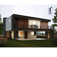 by MOCA ARQUITECTOS Modern کنکریٹ