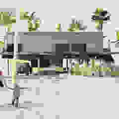 โดย Arquitetura Meridional โมเดิร์น คอนกรีต